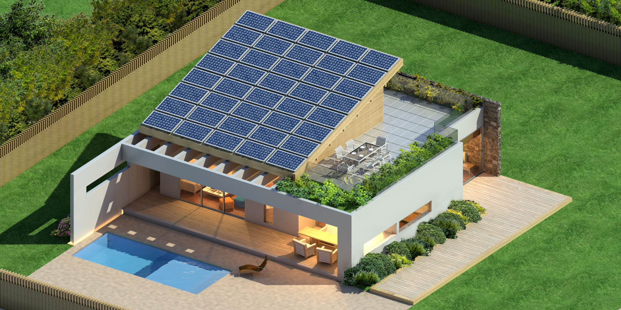 Arzumanidis investments new build solar house in greece for New house project