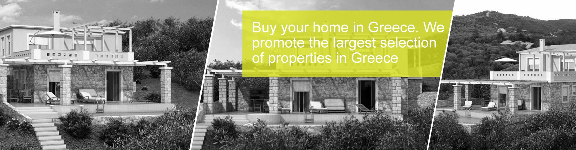 Buy your home in Greece. We promote the largest selection of properties in Greece