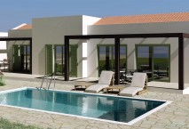 New build detached house in Naxos