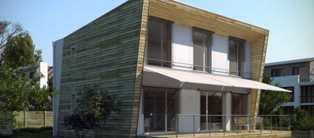 New build passive house in Germany