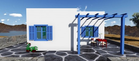 Beautiful vacation house in Naxos